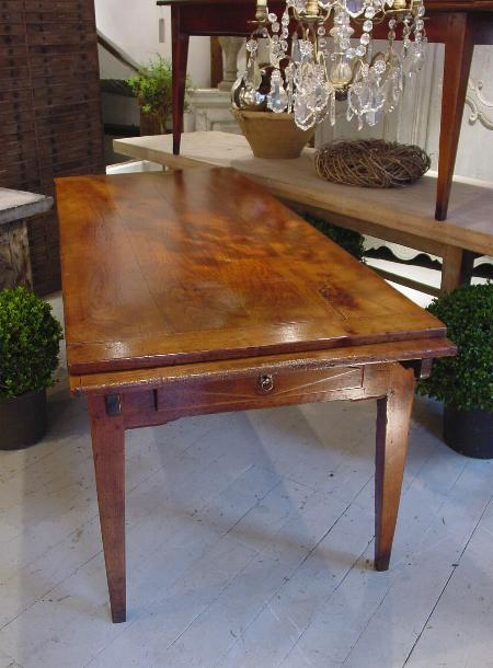 early 19c French extending table - lantiques